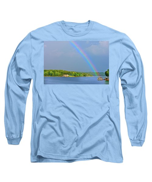 Smith Mountain Lake Rainbow Long Sleeve T-Shirt