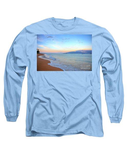 Sunrise On Kaanapali Long Sleeve T-Shirt