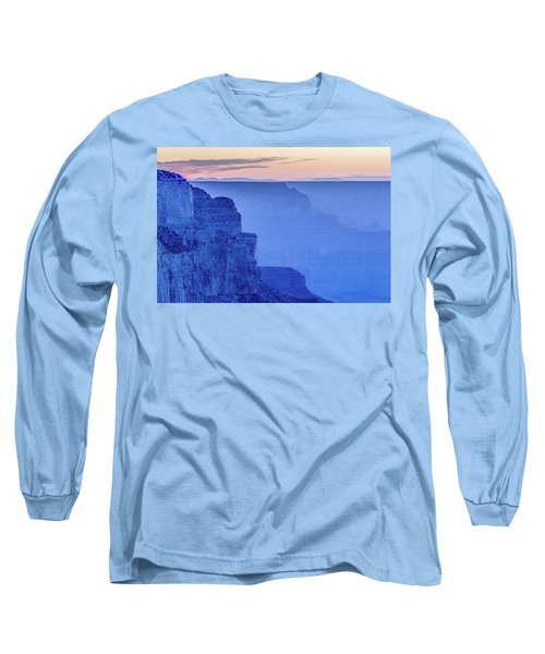 Sunset At South Rim Long Sleeve T-Shirt