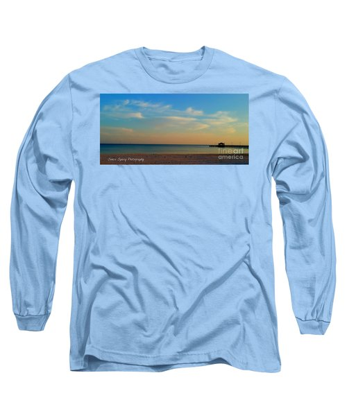 Sunset Long Sleeve T-Shirt by Janice Spivey