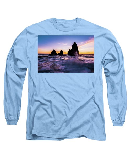 Sunset Splash Long Sleeve T-Shirt