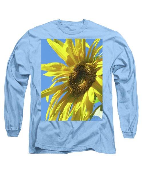 Sunshine In The Garden 28 Long Sleeve T-Shirt by Brooks Garten Hauschild