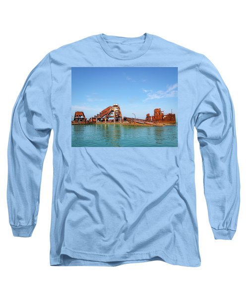 Tangalooma Wrecks Long Sleeve T-Shirt