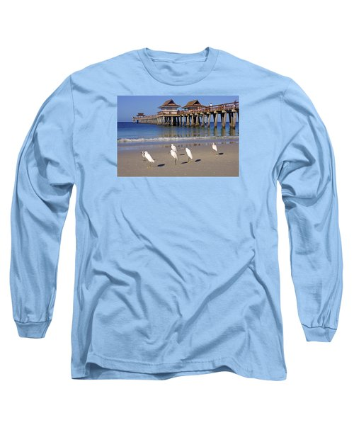 The Historic Naples Pier Long Sleeve T-Shirt