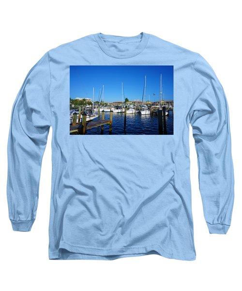 The Naples City Dock Long Sleeve T-Shirt