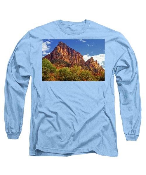 The Watchman Long Sleeve T-Shirt by Raymond Salani III