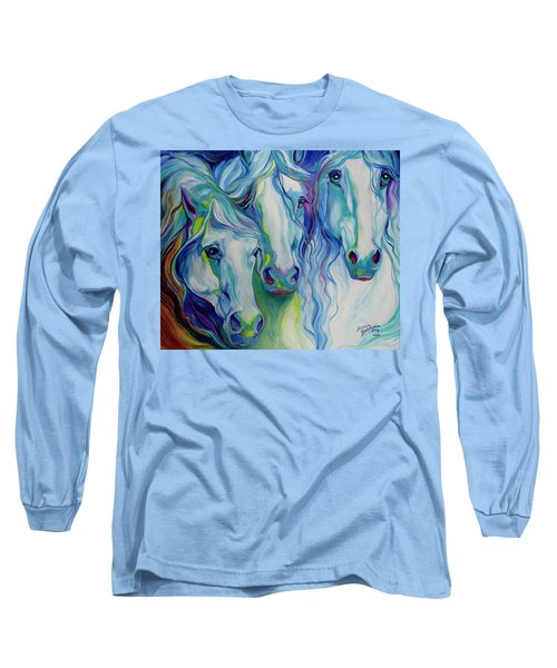 Three Spirits Equine Long Sleeve T-Shirt