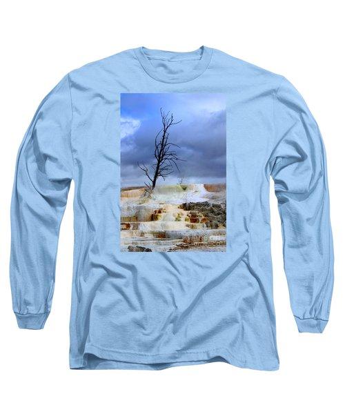 Travertine Terraces Long Sleeve T-Shirt
