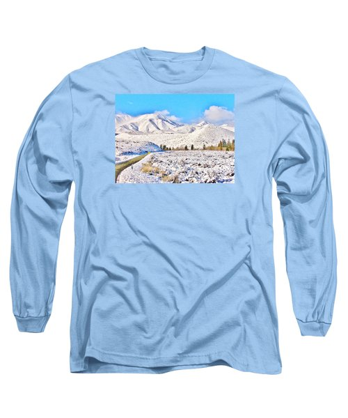 Winter Driving Long Sleeve T-Shirt
