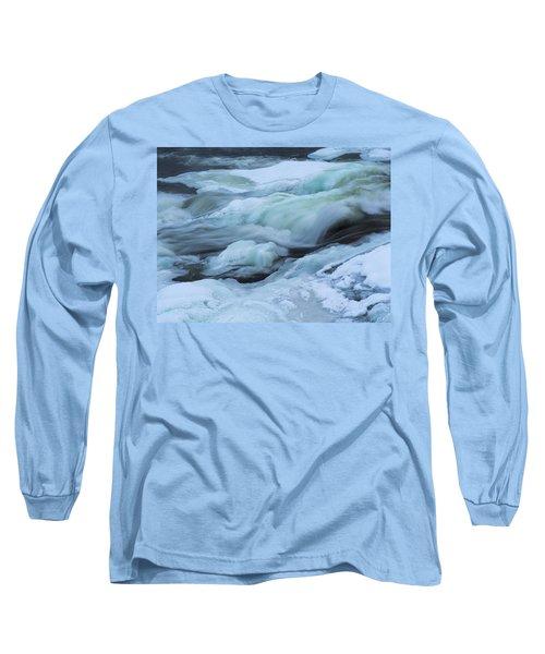 Winter Waterfall Long Sleeve T-Shirt