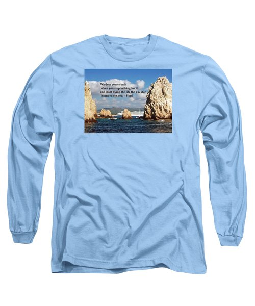 Long Sleeve T-Shirt featuring the photograph Wisdom by Gary Wonning