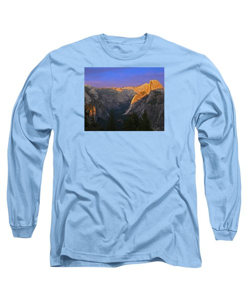 Yosemite Summer Sunset 2012 Long Sleeve T-Shirt by Walter Fahmy