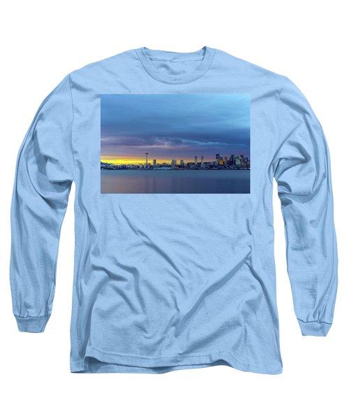 Seattle Long Sleeve T-Shirt by Evgeny Vasenev