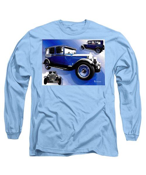 Long Sleeve T-Shirt featuring the photograph 1927 Packard 526 Sedan by Sadie Reneau