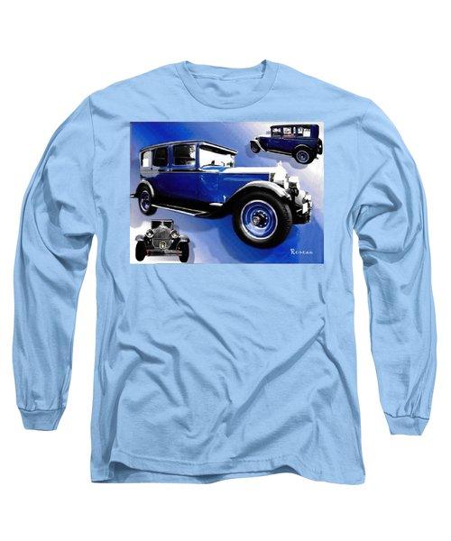1927 Packard 526 Sedan Long Sleeve T-Shirt by Sadie Reneau