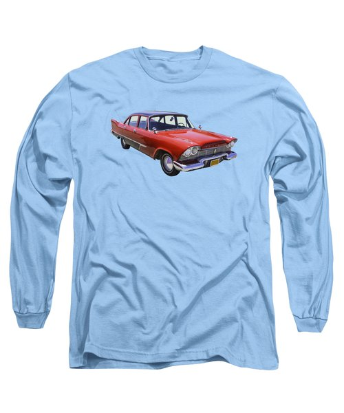 1958 Plymouth Savoy Classic Car Long Sleeve T-Shirt