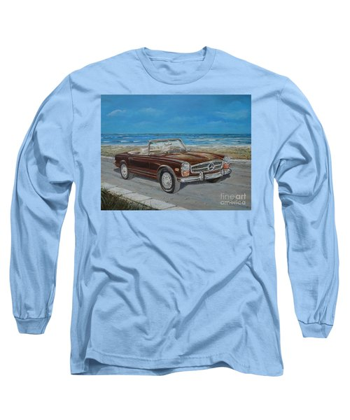 1970 Mercedes Benz 280 Sl Pagoda Long Sleeve T-Shirt