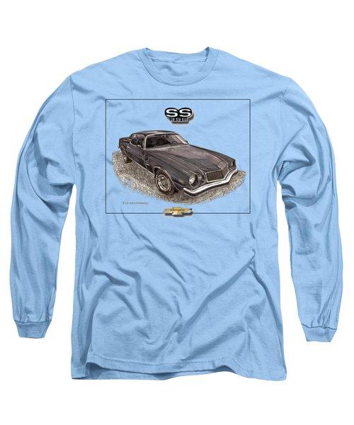 1976 Camaro S S 396 Tee Shirt Long Sleeve T-Shirt