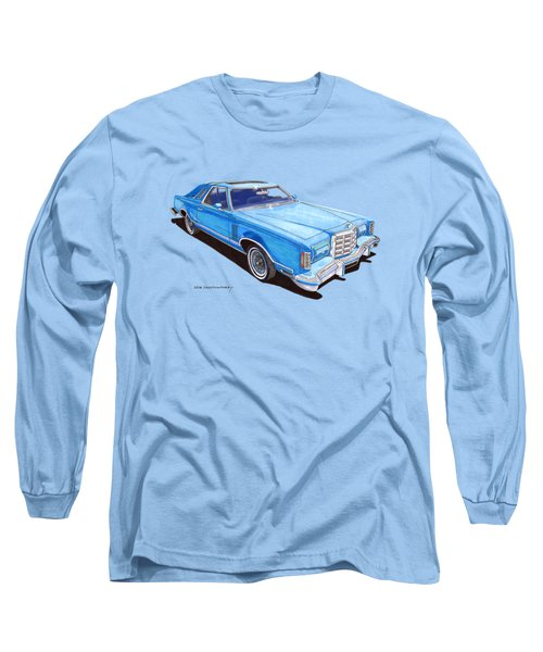1979 Thunderbird Tee Shirt Art Long Sleeve T-Shirt