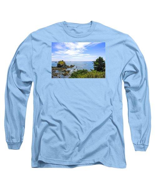 California Coastline Long Sleeve T-Shirt