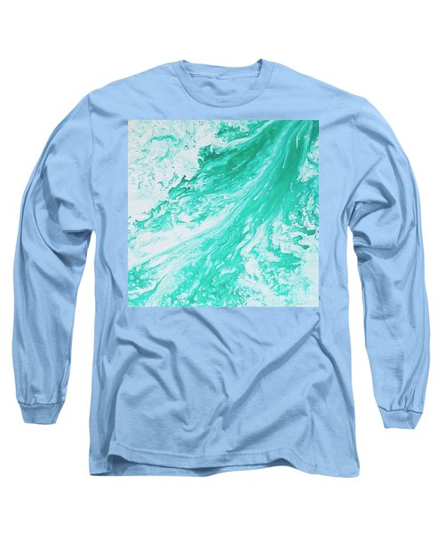 Crystal Wave 5 Long Sleeve T-Shirt