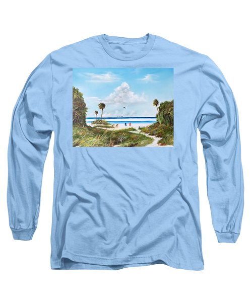 In Paradise Long Sleeve T-Shirt by Lloyd Dobson