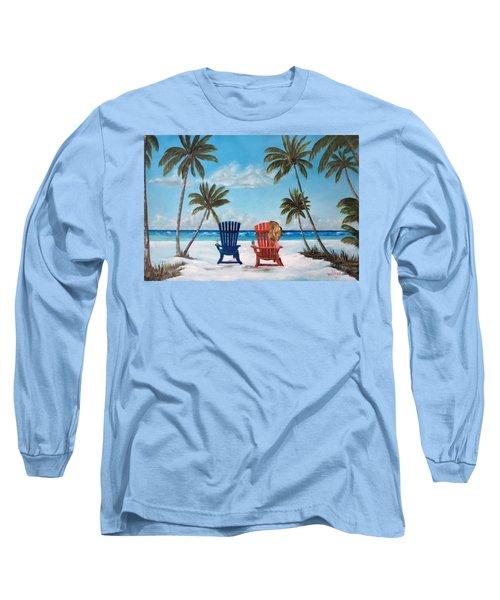 Living The Dream Long Sleeve T-Shirt by Lloyd Dobson