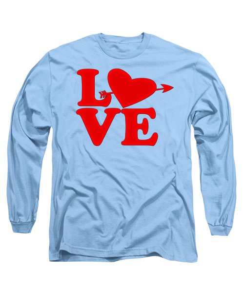 Long Sleeve T-Shirt featuring the digital art Love by Bill Cannon