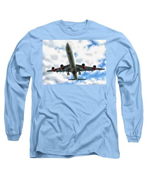 Passenger Plane Long Sleeve T-Shirt