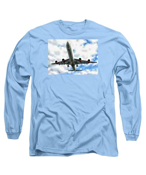 Passenger Plane Long Sleeve T-Shirt