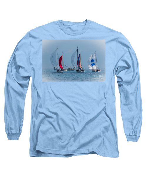 Port Huron To Mackinac Race 2015 Long Sleeve T-Shirt