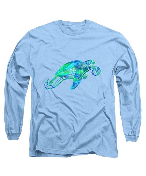 Sea Turtle Graphic Long Sleeve T-Shirt