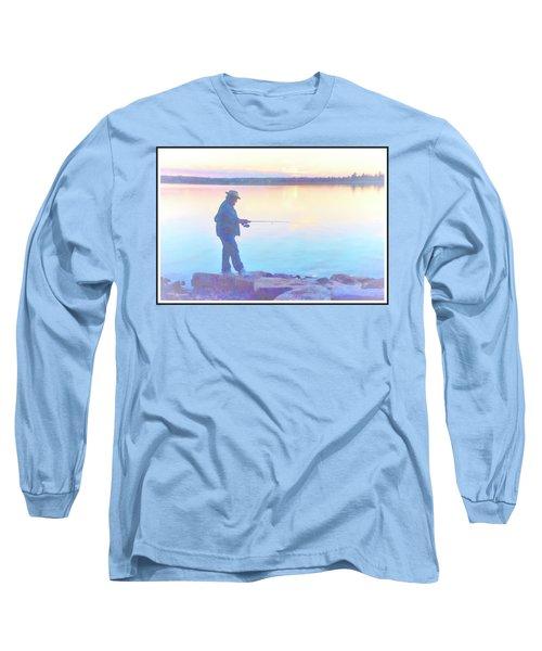 Sunrise Fisherman Long Sleeve T-Shirt