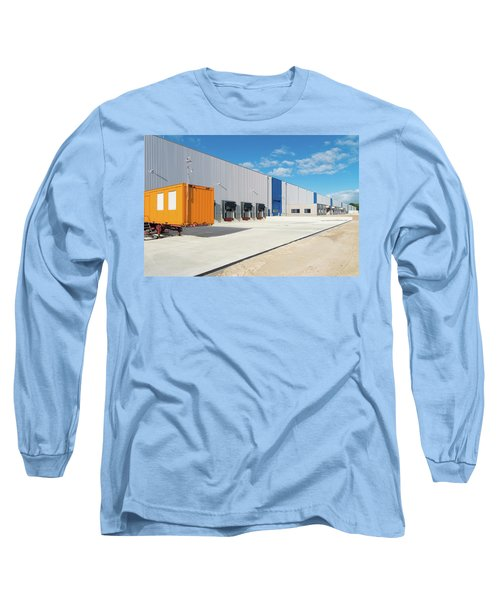 Warehouse Exterior Long Sleeve T-Shirt by Hans Engbers