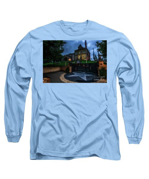 Long Sleeve T-Shirt featuring the photograph Webster County Courthouse by Thomas R Fletcher