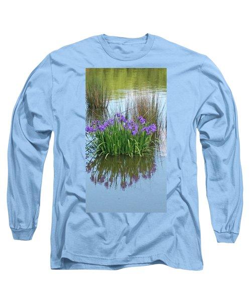 Iris Long Sleeve T-Shirt by Sobajan Tellfortunes