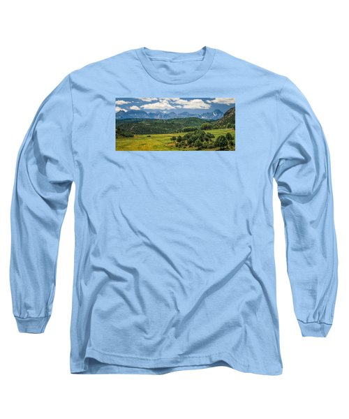 #2918 - Sneffles Range, Colorado Long Sleeve T-Shirt