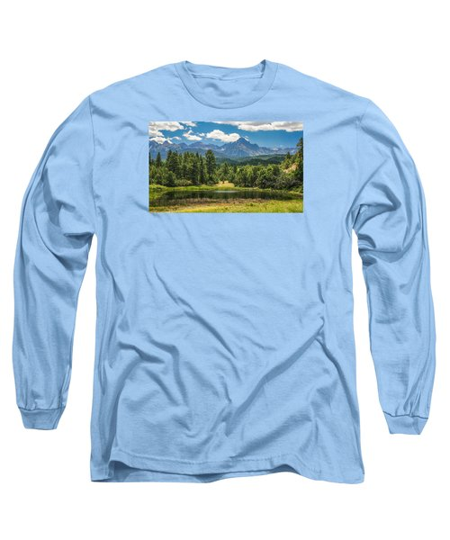 #2933 - Sneffles Range, Colorado Long Sleeve T-Shirt