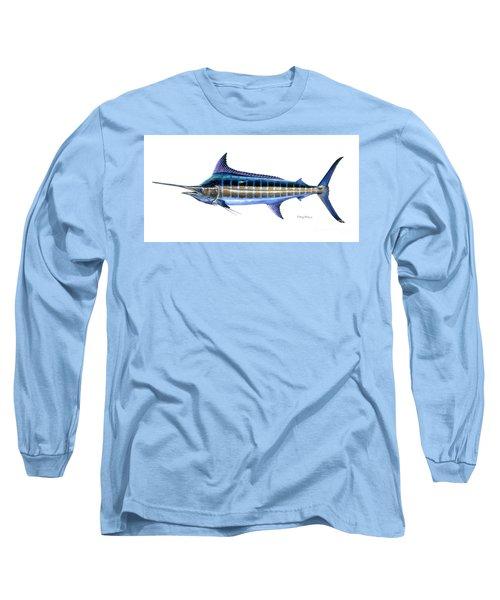 Blue Marlin Long Sleeve T-Shirt