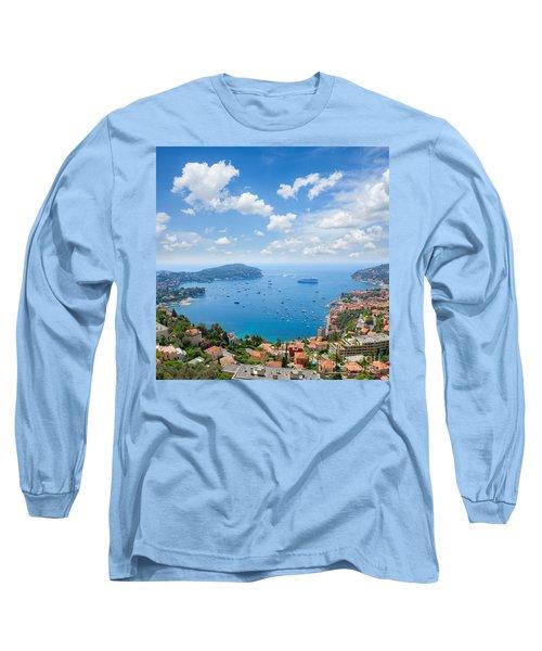 cote dAzur, France Long Sleeve T-Shirt by Anastasy Yarmolovich