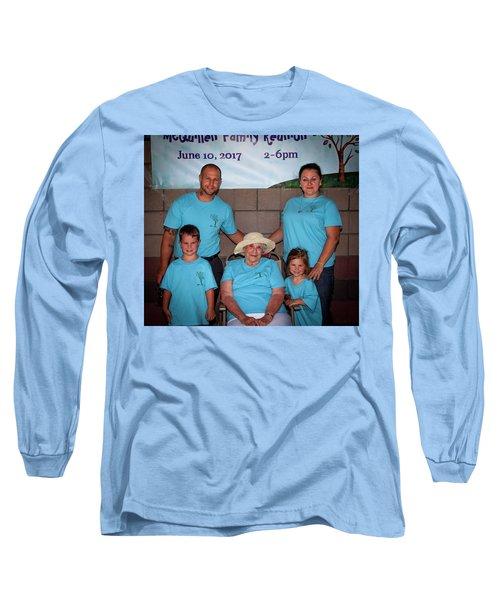 Mcquillen Family Reunion 2017 Long Sleeve T-Shirt