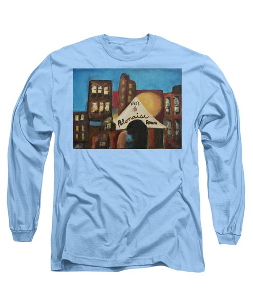 Long Sleeve T-Shirt featuring the painting Nye's Polonaise Room by Susan Stone