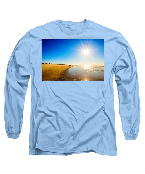 3 On The Beach  Long Sleeve T-Shirt by John Harding