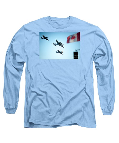3 Pieces Of History Long Sleeve T-Shirt
