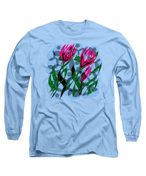 3 Posies Long Sleeve T-Shirt