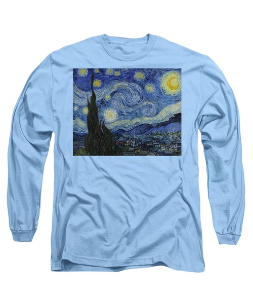 The Starry Night Long Sleeve T-Shirt