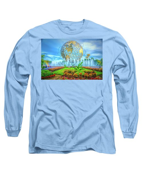 The Unisphere Long Sleeve T-Shirt
