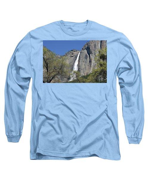 Upper Yosemite Falls Long Sleeve T-Shirt
