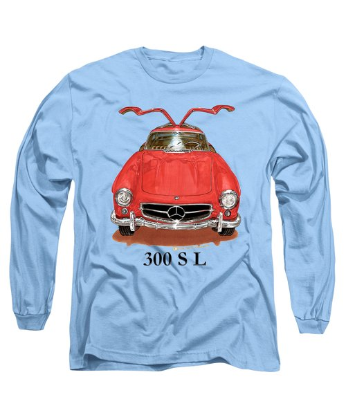 300 Sl Mercedes Benz 1955 Long Sleeve T-Shirt