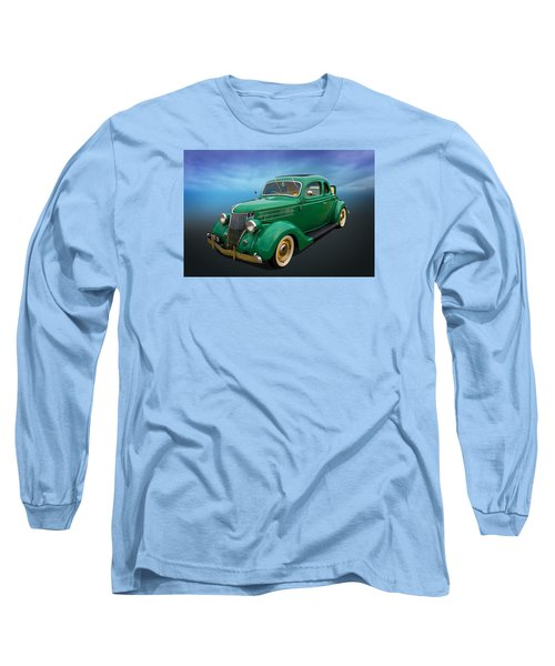 36 Ford Long Sleeve T-Shirt by Keith Hawley